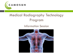 Medical Radiography Technology Program