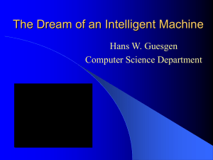 The Dream of an Intelligent Machine