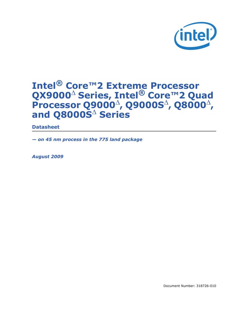 Intel Core2 Extreme Processor Qx9000 Series Procesor Quad Core Q8200 Soket 775
