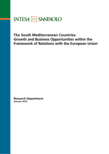 The South Mediterranean Countries