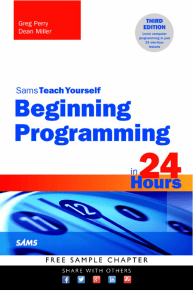 Sams Teach Yourself Beginning Programming in