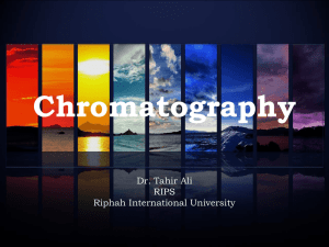 Chromatography - Taleem Network