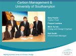 Carbon Management - Sustainability Exchange