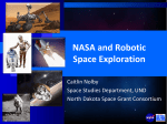 Space Exploration: Robots and Humans