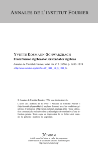 From Poisson algebras to Gerstenhaber algebras