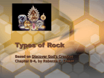Types of Rock - Teacher Bulletin