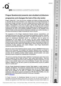Architecture at the PQ press release