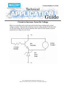 Circuit to Increase Turn-On Voltage
