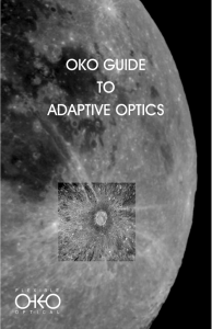 OKO guide to adaptive optics