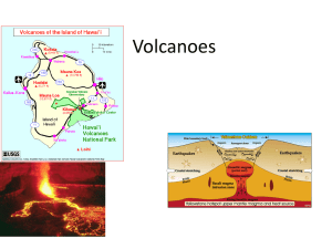 7.3 Volcanoes continued