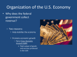 Chapter 9.2 Organization of the U.S. Economy