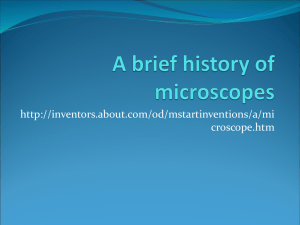Microscope Power Point File