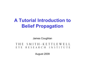 A Tutorial Introduction to Belief Propagation