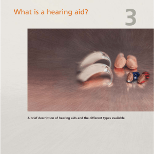 What is a hearing aid? - Hearing aids from Widex