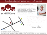 New Orthodontic Practice opens in Frankfurt
