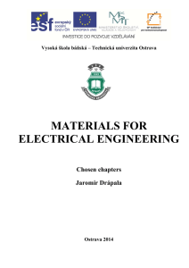 MATERIALS FOR ELECTRICAL ENGINEERING