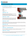 Window Wall Info Sheet - Graham Architectural Products