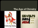 The Age of Chivalry - Ms. Gleason`s Classroom