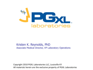 CYP2D6 - PGXL Laboratories