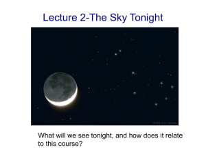 22 Jan: The Sky Tonight and Overview of the Solar System