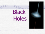 Black Holes - World of Teaching