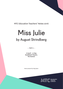 Miss Julie - Amazon Web Services
