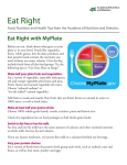 Eat Right with MyPlate