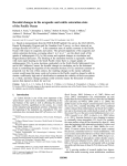 Decadal changes in the aragonite and calcite saturation state of the