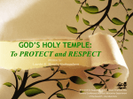 GOD`S HOLY TEMPLE - Adventist Women`s Ministries