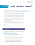 Atopic dermatitis (eczema) - Society for Pediatric Dermatology