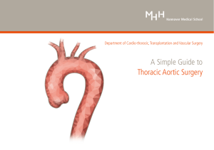 A Simple Guide to Thoracic Aortic Surgery