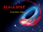 1. What is the black hole?