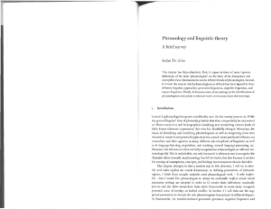 Phraseology and linguistic theory