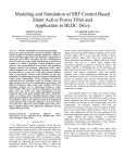 IV Matlab/Simulink Modeling and simulation results
