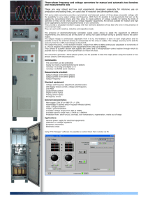 Zenone Frequency and Voltage Converter Datasheet