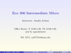 Eco 300 Intermediate Micro