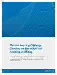 Machine Learning Challenges: Choosing the Best Model