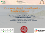 End-century Multi-Hazard Maps for Bangladesh Coast