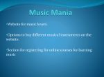 Music Mania - My FIT (my.fit.edu)