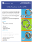 Variable Reluctance Resolvers