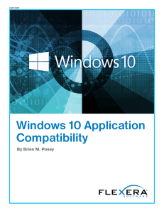 Windows 10 Application Compatibility