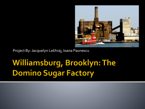 Williamsburg, Brooklyn: The Domino Sugar Factory