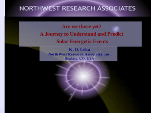 Are we there yet? A Journey to Understand and Predict Solar