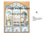 High Middle Ages - Lisahistory.net