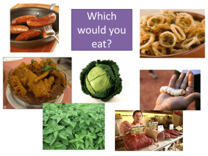 Which factors affect the selection of food species?