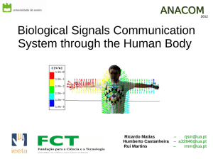 Biological Signals Communication System through the