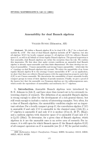 Amenability for dual Banach algebras