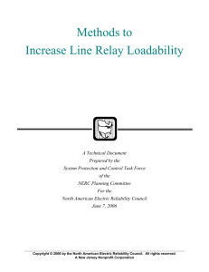Methods to Increase Line Relay Loadability
