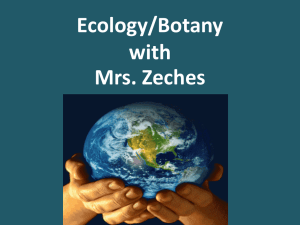 Ecology/Botany with