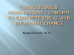 Consciousness - Shannon Deets Counseling LLC